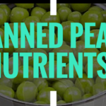 canned peas nutrients