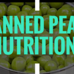 canned peas nutrition